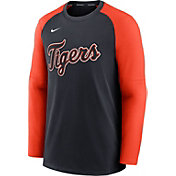 Nike Men's Detroit Tigers Blue Authentic Collection Pre-Game Long Sleeve T-Shirt