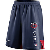 Nike Men's Minnesota Twins Navy Authentic Collection Training Short
