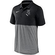 Nike Men's Chicago White Sox Stripe White Polo