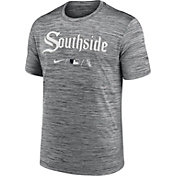 Nike Men's Chicago White Sox Grey 2021 City Connect Velocity T-Shirt