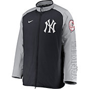 Nike Men's New York Yankees Blue Authentic Collection Dugout Full-Zip Jacket