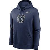 Nike Men's New York Yankees Navy Club Hoodie