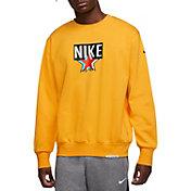 Nike Men's Standard Issue Graphic Basketball Crewneck Sweatshirt