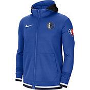 Nike Men's Dallas Mavericks Blue Dri-Fit Hoodie