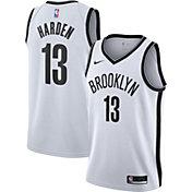 Nike Men's Brooklyn Nets James Harden #13 White Dri-FIT Association Jersey