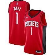 Nike Men's Houston Rockets John Wall #1 Red Dri-FIT Icon Edition Jersey