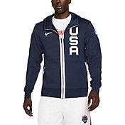 Nike USA Navy Therma Flex Full-Zip Hoodie