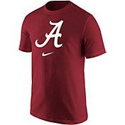 Nike Men's Alabama Crimson Tide Crimson Core Cotton Logo T-Shirt