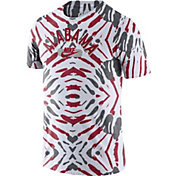 Nike Men's Alabama Crimson Tide White Tie-Dye Festival T-Shirt