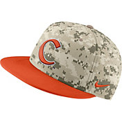 Nike Men's Clemson Tigers Camo Fitted Baseball Hat