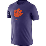 Nike Men's Clemson Tigers Purple Essential Logo T-Shirt