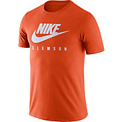 Nike Men's Clemson Tigers Orange Futura T-Shirt