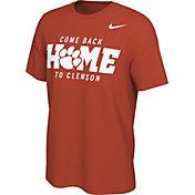 Nike Men's Clemson Tigers Orange Come Back Home Mantra T-Shirt
