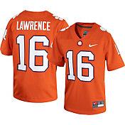 Nike Men's Clemson Tigers Trevor Lawrence #16 Orange Dri-FIT Game Football Jersey