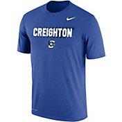 Nike Men's Creighton Bluejays Blue Dri-FIT Cotton T-Shirt
