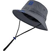 Nike Men's Duke Blue Devils Grey Dri-FIT Football Sideline Bucket Hat