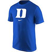 Nike Men's Duke Blue Devils Duke Blue Core Cotton Logo T-Shirt