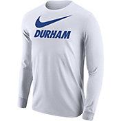 Nike Men's Durham City Long Sleeve White T-Shirt