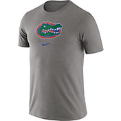 Nike Men's Florida Gators Grey Essential Logo T-Shirt