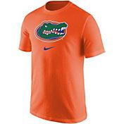 Nike Men's Florida Gators Orange Core Cotton Logo T-Shirt