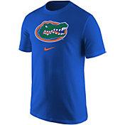 Nike Men's Florida Gators Blue Core Cotton Logo T-Shirt