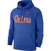Nike Men's Florida Gators Blue Club Fleece Pullover Hoodie