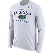 Nike Men's Florida Gators White Dri-FIT Legend Long Sleeve T-Shirt