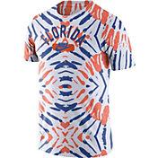 Nike Men's Florida Gators White Tie-Dye Festival T-Shirt