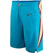 Nike Men's Florida State Seminoles Turquoise Alternate Replica Basketball Shorts