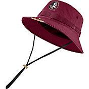 Nike Men's Florida State Seminoles Garnet Dri-FIT Football Sideline Bucket Hat