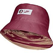 Nike Men's Florida State Seminoles Garnet Dri-FIT Spring Break Reversible Bucket Hat