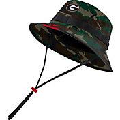 Nike Men's Georgia Bulldogs Camo Dri-FIT Football Sideline Bucket Hat