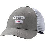 Nike Men's Georgia Bulldogs Grey Legacy91 Trucker Hat