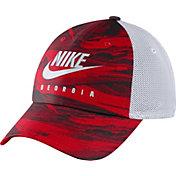 Nike Men's Georgia Bulldogs Red H86 Spring Break Adjustable Hat