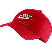 Nike Men's Georgia Bulldogs Red Futura Adjustable Hat