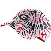 Nike Men's Georgia Bulldogs Red Tie-Dye Heritage86 Festival Hat