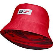 Nike Men's Georgia Bulldogs Red Dri-FIT Spring Break Reversible Bucket Hat