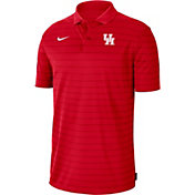 Nike Men's Houston Cougars Red Football Sideline Victory Polo