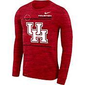 Nike Men's Houston Cougars Red Velocity Legend Long Sleeve T-Shirt