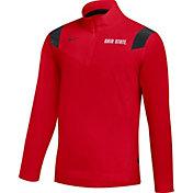 Nike Men's Ohio State Buckeyes Scarlet Football Sideline Coach Lightweight Jacket
