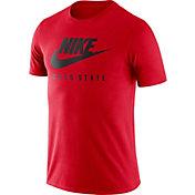 Nike Men's Ohio State Buckeyes Scarlet Futura T-Shirt