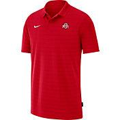 Nike Men's Ohio State Buckeyes Scarlet Football Sideline Victory Polo