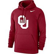 Nike Men's Oklahoma Sooners Crimson Club Fleece Hoodie