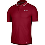Nike Men's Oklahoma Sooners Crimson Dri-FIT UV Polo