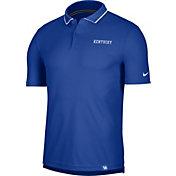 Nike Men's Kentucky Wildcats Blue Dri-FIT UV Polo
