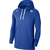 Nike Men's Kentucky Wildcats Blue Lightweight Pullover Hoodie