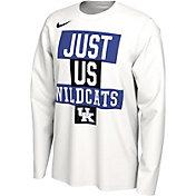 Nike Men's Kentucky Wildcats 'Just Us' Bench Long Sleeve T-Shirt