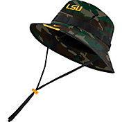 Nike Men's LSU Tigers Camo Dri-FIT Football Sideline Bucket Hat