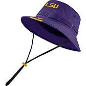Nike Men's LSU Tigers Purple Dri-FIT Football Sideline Bucket Hat