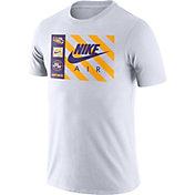 Nike Men's LSU Tigers Seasonal White T-Shirt